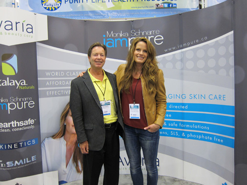 Kevin Smith, Grocery Business Media and Monika Schnarre, iampure