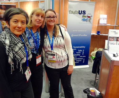 Maria Arbulu, Foreign Agricultural Service (FAS); Kathy Boyce, Boyce Strategic Marketing; Sonya Jenkins, FAS