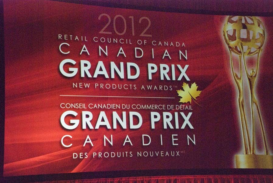 Grand Prix Best New Product Awards Gala