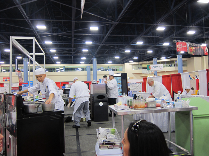 Americas Food & Beverage Show, Oct. 2013