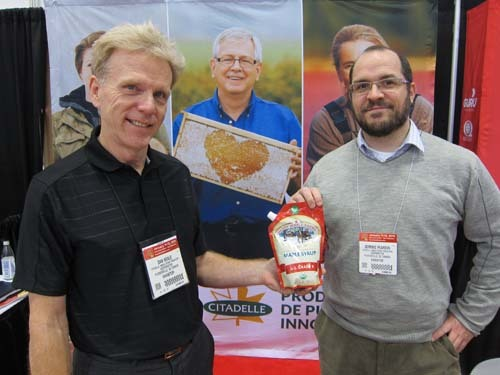 Dan Neale and Dominic Pearson Citadelle Maple Syrup Producers Cooperative