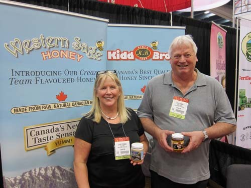 Diane and Ed Stubson Kidd Bros Honey