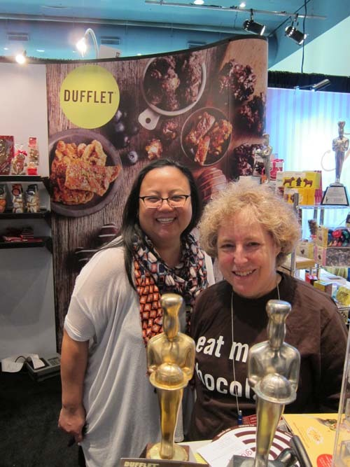 Heather Chu and Dufflet Rosenberg Dufflet Pastries