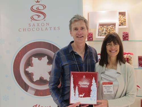 Johan De Greef and Dorothy McCulloch Saxon Chocolates