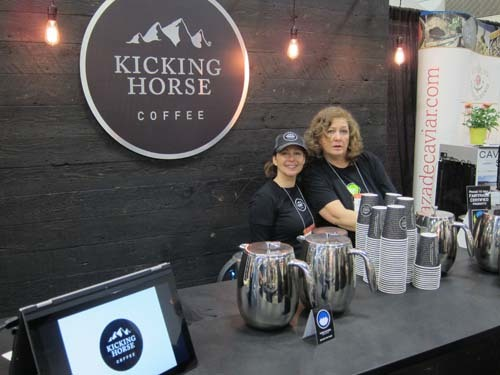 Nimrodel Mason and Wendy Calpeno Kicking Horse Coffee