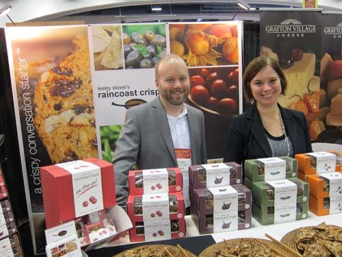 Patrick Gilbert and Allison McCreary Lesley Stowes Raincoast Crisps + Cookies