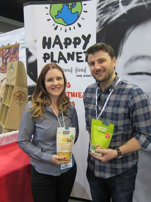 Lauren Rebar-Happy Planet Foods and Jordan Birch-Sustainable Produce