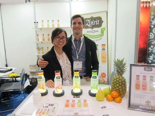 Betty Lau and Imanol Arias - Zpirit Fods Inc