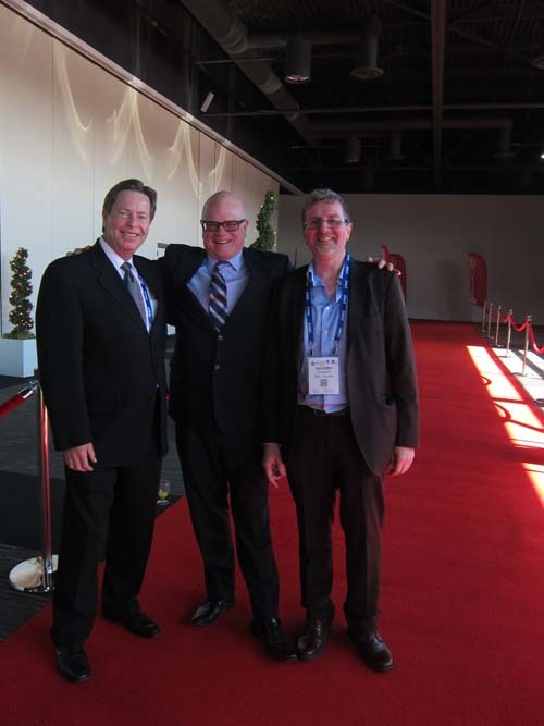 Kevin Smith-Grocery Business David Wilkes-Retail Council of Canada Thierry Quagliata-SIAL Canada