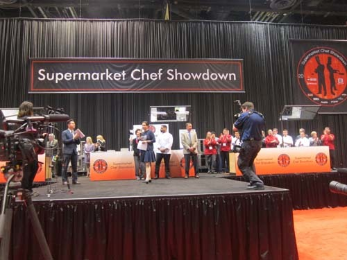 Supermarket Chef Showdown at FMI