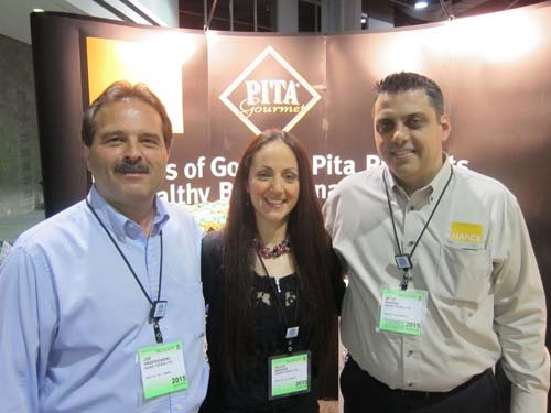 Joe Grzesiowski, Helen and Aftim Nassar, Handi Foods Ltd
