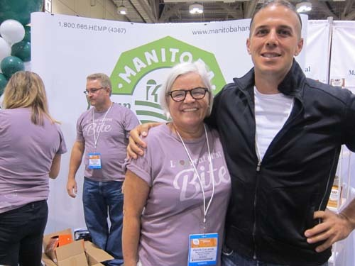 Carol Lalonde and Mike Fata, Manitoba Harvest