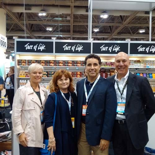 Sheila Farah and Joanne Argo, Tree Of Life; Bruno Curitti, Sobeys; Jamie Moody, Tree Of Life