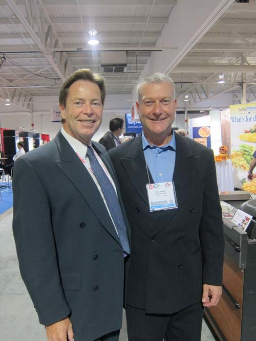 Kevin Smith, Grocery Business Media and Glen Bonner, Pan Osten