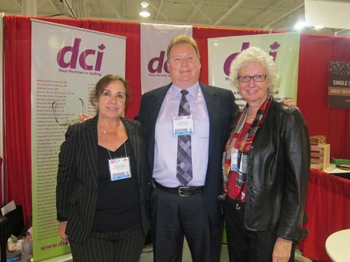 Margaret Vicente, Brian Parker and Sharon Gill - Distribution Canada