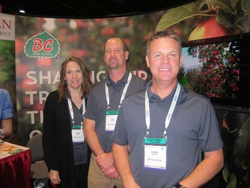 Laurel Van Dam Don Westcott and Lance McGinn - BC Tree Fruits Cooperative
