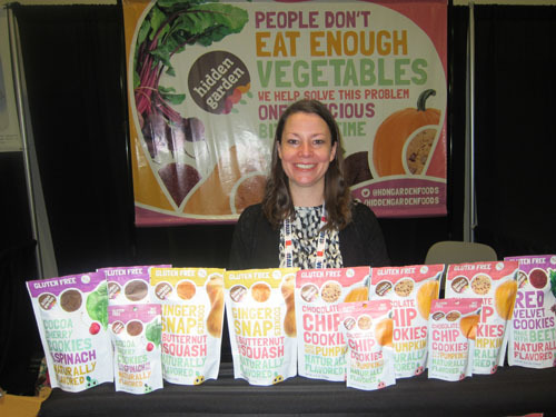 Catherine Anderson with Canada's Sneakiest Cookies - Hidden Garden Foods Ltd
