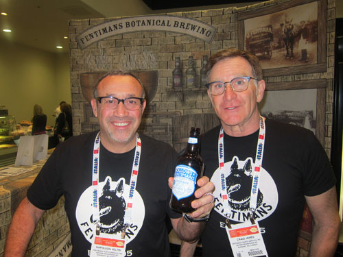 Napoleon Veltri and Craig James with new Hollows + Fentimans Ginger Beer - Fentimans North America