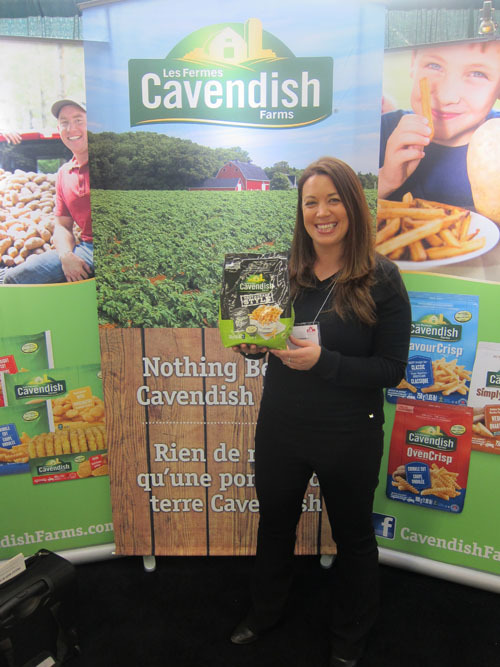Julie Levesque - Cavendish Farms with newly launched Restaurant Style products