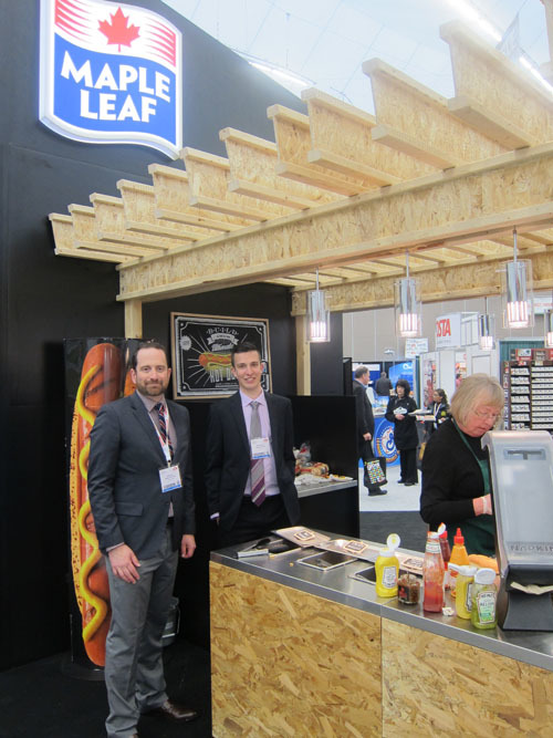 Mark Volk and Colton Keam - Maple Leaf Consumer Foods