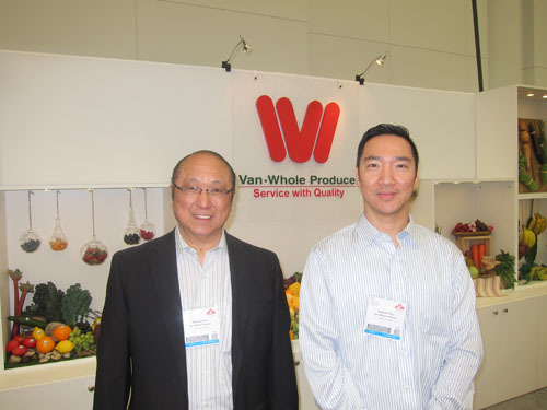 Raymond Ho and Samuel Chui of Van-Whole Produce