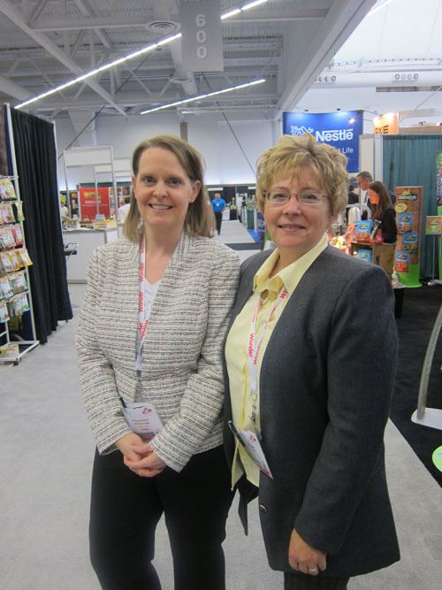 Shannon Forner and Joan McMurray of Valu-Plus Foods