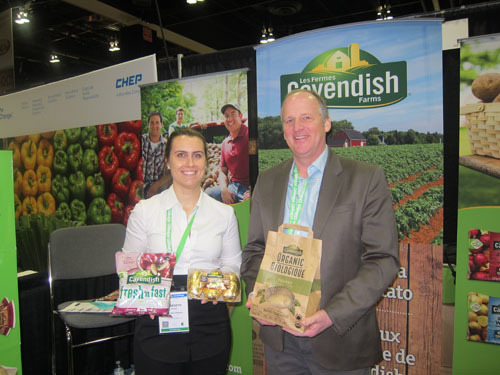 Meredith Irving and David Keedwell - Cavendish Produce
