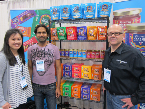 Wong New Age Marketing, Amit Hooda and Joe Rubino of Heavenly Organics