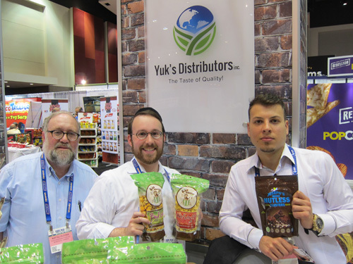 Naftali Plotnik and Yekusiel Plotnik - Yuks Distributors with Anthony Bartolomeo - Josephs Nutless Clusters