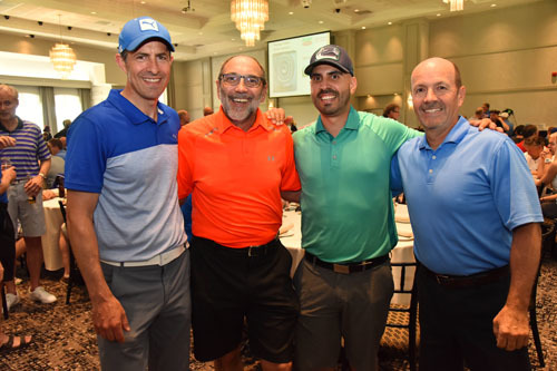 Dave Iacobelli, Jim Slomka, JC Torres with Steve Thompson, Team Clorox