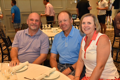 CFIG's Tom Barlow with John Scott, JFT Scott Management and Michelle Scott, The Grocery Foundation