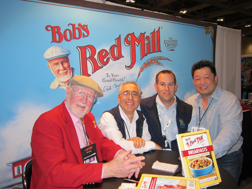 Bob Moore from Bobs Red Mill with Alex Fossella Marco Blouin and Ken Kwong - New Age Marketing & Brand Management