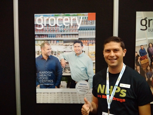 Robert Assif - Kardish Food Centres at the Grocery Business booth