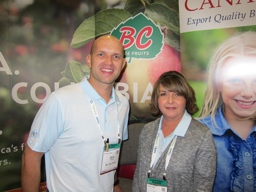 Chris Pollock and Lisa Linton - BC Tree Fruits