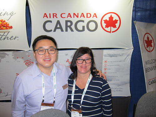 Drew Kwok and Susana Casselman - Air Canada Cargo