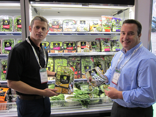 Ed Thompson and Luc Prevost- Vegpro International