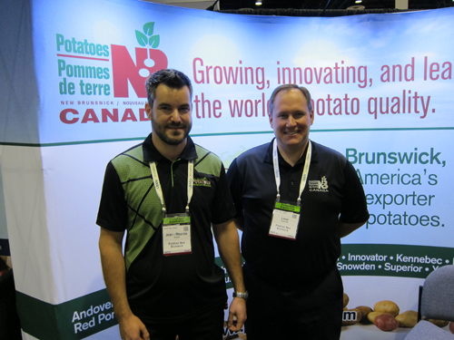 Jean-Maurice Daigle and Louis Ouellette - Potatoes New Brunswick