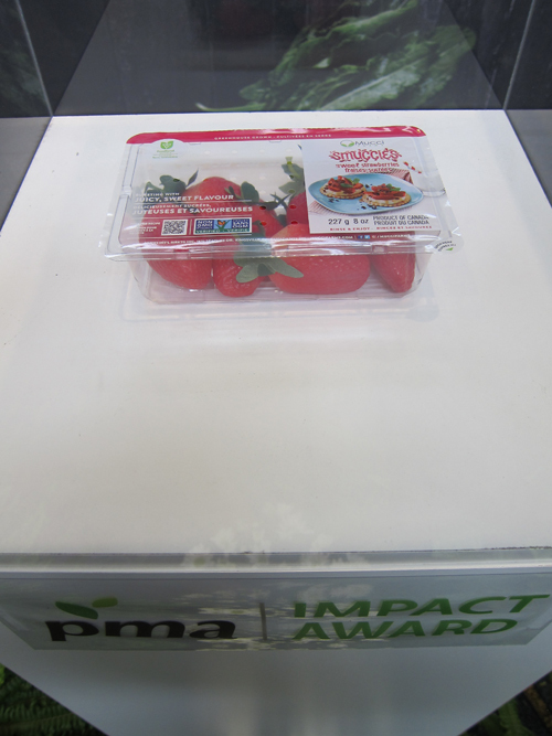 Mucci - winning Impact Award Strawberries