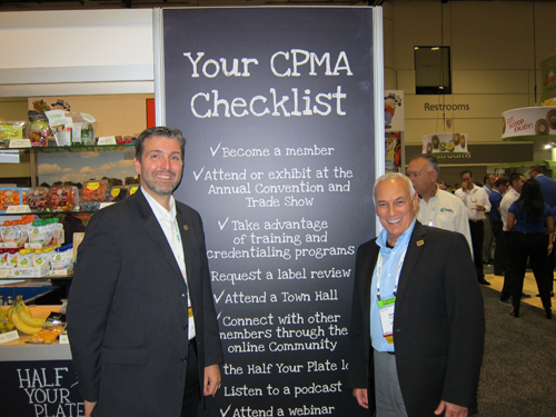 Ron Lemaire - president and Sam Silvestro - Chair - CPMA