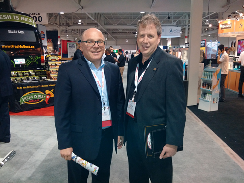Mike Lovsin - Freeson Markets and Francois Bouchard - DCI Board