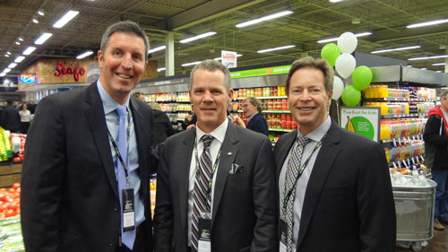 Dave Morris - Canadian Fishing Co. with Jamie Nelson - Overwaitea Food Group and Kevin Smith - Grocery Business