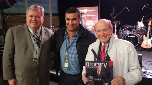 Darrell Jones - Overwaitea Food Group with Reza Bakhtiyari - Millennium Pacific Greenhouses and Jim Pattison - Pattison Group