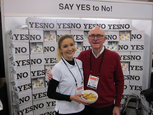 Aslyn Kay and Allan Tyreman with the new Van der Meulen Chips