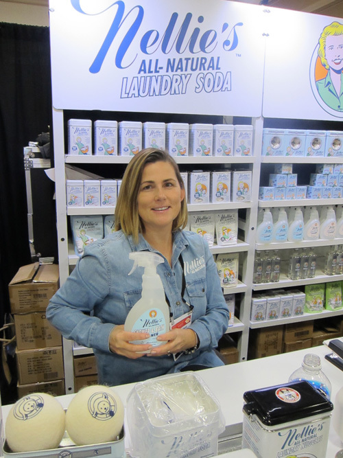 Paula Grigg with Nellies All-Natural Cleaners