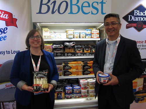 Angela Cove and Tony Marr - Parmalat Canada