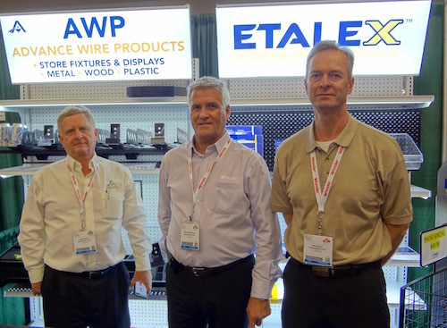Bruce Davis - awp Store Fixtures with Alain Charbonneau and Glen Bailey of Etalex
