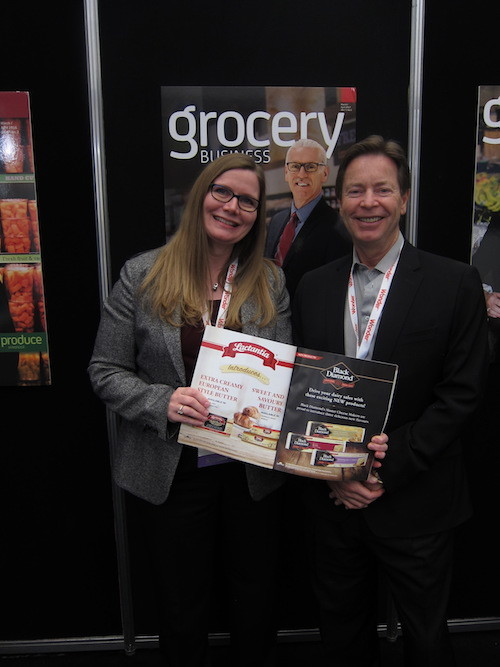 Cheryl Smith of Parmalat Canada with Kevin Smith - Grocery Business