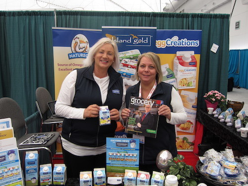 Christine Kemp and Charlene Boychuk - Burnbrae Farms