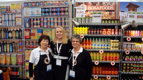Nancy Azzara with Doris Keller and Louisa Primerano - Bosa Foods