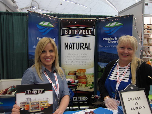 Sarah Pelland and Kelly Greville - Bothwell Cheese